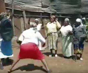 Kenya's Karate grannies