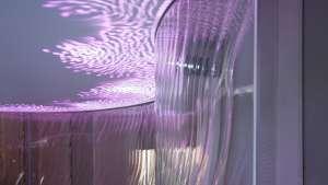 """Ross Lovegrove's """"Lasvit Liquidkristal"""" installation"""