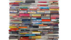 Paperback bookshelf by Studio Parade.