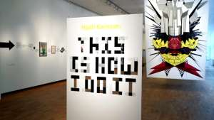 """This Is How I Do It"" exhibition by Torsten and Wanja Söderberg Prize winner Hjalti Karlsson."