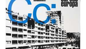 'Club Céramique', A0-sized screenprinted poster for NAiM / Bureau Europa (Maastricht, NL), 2010