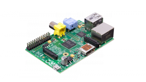 Raspberry Pi by Eben Upton.