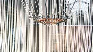 Teardrop installation by Marije Vogelzang. Photo: Henk van Dijke.