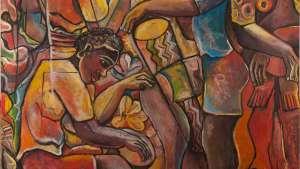 Geoffrey Mukasa (Ugandan, 1954–2009) Celebrations, circa 2006/07