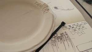 iQhina tableware by Sarah Rhodes and Andile Dyalvane.