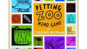 Christoph Niemann — Petting Zoo Memo Game, copyright Gestalten 2013.