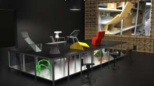 """Panorama"" exhibition by Konstantin Grcic at the Vitra Design Museum."
