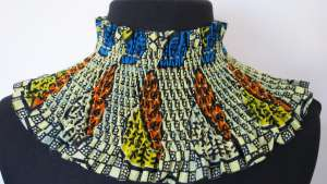 Smock Collar by Susan Didcott.