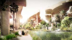 Al Fayah Park by Thomas Heatherwick.