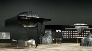 Mathieu Lehanneur's lounge design for Audemars Piguet.
