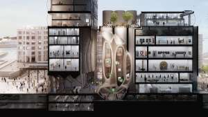 The Zeitz Museum of Contemporary Art Africa by Thomas Heatherwick.