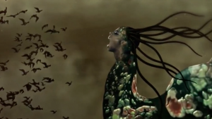 "Screen Shot from Wagechi Mutu's ""The end of eating everything""."