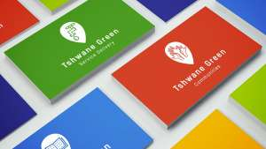 Tshwane Green Project logo and identity system designed by K&i Design Studio.
