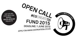 Open Call #cocreateSA Fund.