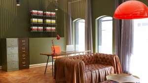Haldane Martin designs the interior for Striped Horse offices.