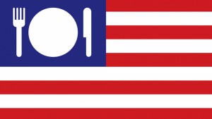 Pentagram partner Michael Bierut's identity and environmental graphic for the US Pavilion at Expo Milano 2015.