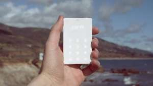 The Lightphone is a cell phone designed to be used as little as possible.