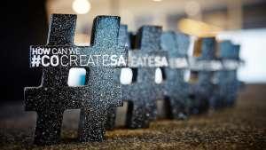 Each winner received R100,000 in the #cocreateSA Fund awards. Photo: Julia Janse van Vuuren