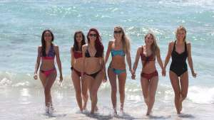 French company Spinali Design has created a bikini that will warn the wearer when they have been in the sun for too long via messages to their smart phone.