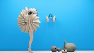 """Pneumatic Nomadic"" is a set of three sculptural audio devices by RCA graduate Özgün Kılıç,"