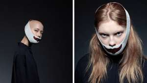 The wearing makeup collection by Japanes desinger Akiko Shinzato.