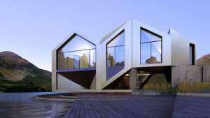The D*Dynamic shape-shifting house was built using a mathematical puzzle in order to store energy in summer and provide maximum insulation in winter