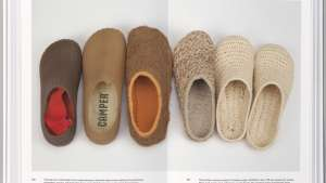 """""""The Walking Society"""" is a new book on Camper shoes, designed by Atlas and published by Lars Müller publishers"""