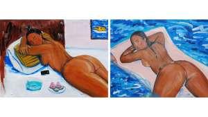 Monica Garza paints women in all their curvaceous glory. Image: Monica Kim Garza