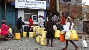 ATMs in Kenya dispense water to the people living in slums who need it. Image:Daniel Irungu
