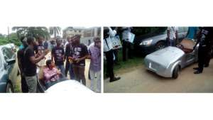 A team of Mechanical Engineering students of the University of Lagos have designed and built an electric, zero-emission car