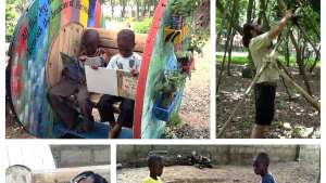 The Playtime in Africa initiative is a public space for Ghana's children