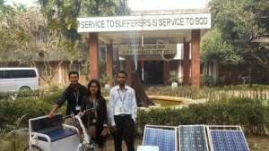 solar-powered vehicle in Bangladesh