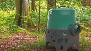 Industrial designer Sam Troop has designed a safe, efficient and sustainable portable cooker. The Eco-Grill is a response o the problems of barbecuing in the New Forest in England, and is developed using circular design principles