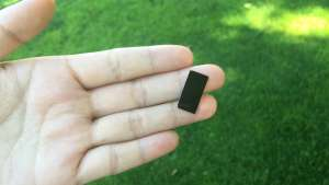 Tiny device uses sunlight to disinfect water