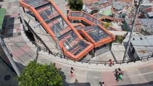 Medellín escalators
