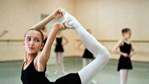 A student of Vaganova