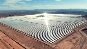 Morocco Noor power plant Sahara desert