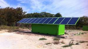 SolarTurtle is an innovative green energy product that relies solely on battery-based distribution for rural electrification