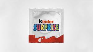 Kinder Surprise condom