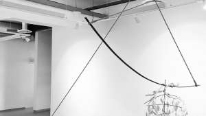 """""""Still-life with three suspended bodies"""" by Martin Wilson & Kyu Sang Lee."""