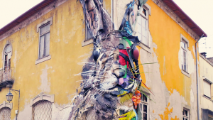 Bordalo II sculpture