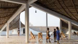 Cultural centre in Senegal by Toshiko Mori Architects