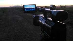 Short film workshop in Mafikeng.