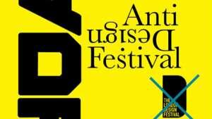 Anti-Design Festival. Image via Creative Review.