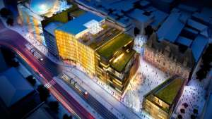 Luxembourg Royal Hamilius by Foster + Partners.