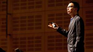 John Maeda speaking at Design Indaba 2013