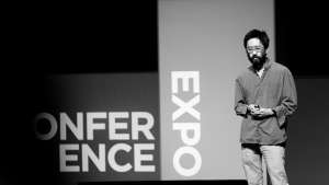 Alex Chen at Design Indaba Conference.