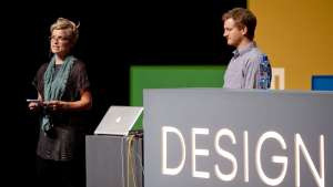 Bland Hoke and Howard Chambers at Design Indaba Conference 2013.