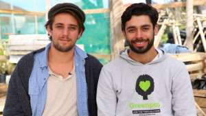 Your Street Live winners Misha Teasdale & Ricky Lee Gordon: Greenpop Mountain Road Rest Nest & Nursery.