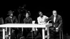 State of the Art at Design Indaba Conference 2014 featuring Hans Ulrich Obrist, Athi-Patra Ruga, Nandipha Mntambo & Zanele Muholi.